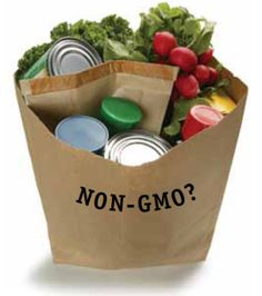 """Non-GMO Shopping Guide"" - simple tips to avoid buying GMO.  Download their free shopping guide!"