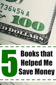 Over the last 10 years, I've learned how to save money, but it was with the help of these 5 books!!! Check out the books that led me on the path to saving BIG!