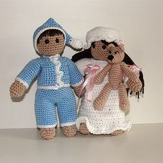 Crochet Pattern  Good Night Wilma and Willy by tildafilur on Etsy, $5.50