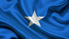 Flag of Somalia wallpaper Law Enforcement Flag, Wallpaper Canada, Somalia Flag, Roman Characters, Samsung Galaxy Mini, Flag Background, Blue Flag, Flags Of The World, Hd Backgrounds