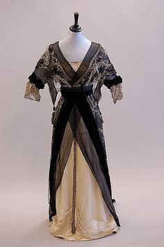 Evening Dress House of Worth c.1913
