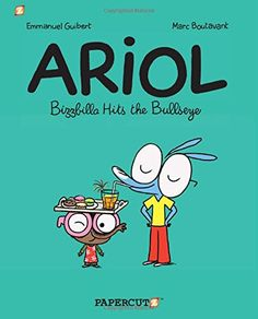 Ariol #5: Bizzbilla Hits the Bullseye (Ariol Graphic Novels) by Emmanuel Guibert http://www.amazon.com/dp/1597077356/ref=cm_sw_r_pi_dp_djI6tb12VS852