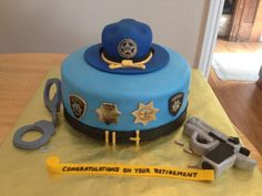 Woolards's Retirement Cake