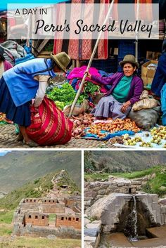 A day trip in the Sacred Valley of Peru includes stops at the ruins of Pisac, the Pisac weekly market, and Ollantaytambo | A Day in Peru's Sacred Valley