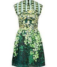 Silk Print Gia Dress from PETER PILOTTO