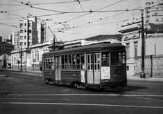Tram to Lapa at Sao Joao Avenue in the 50's More photos from Sao Paulo ? Here: www.oldsaopaulo.com