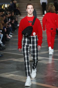 MSGM Fall 2018 Menswear Fashion Show