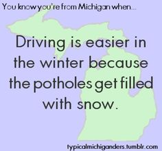 Lol You Know You're From Michigan When. Michigan Facts, State Of Michigan, Detroit Michigan, Northern Michigan, Detroit Lions, The Mitten State, Ootd, Great Lakes, Along The Way