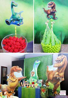 The Good Dinosaur Party Candy Table #TheGoodDinosaur