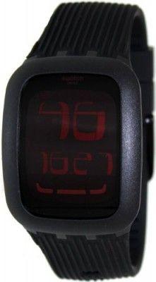 2c7daba06a117 Relógio Swatch Touch Night Black Digital Dial Unisex Watch SURB102  Relogio   Swatch