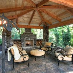 Superior Traditional Pavilion Design, Pictures, Remodel, Decor And Ideas   Page 27  Outdoor Kitchens