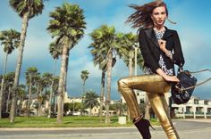 Karlie Kloss for Juicy Couture Fall 2012 Campaign