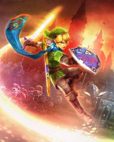 Hyrule Warriors official art. The new game looks like it has AMAZING graphics. If only it came on a platform I own...