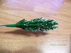 Легко и просто мастерим еловую ветку для декора композиций - Ярмарка Мастеров - ручная работа, handmade