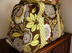 Free Pattern Overnight Bag | After a final four hour sewing session, my overnight bag was finished ...
