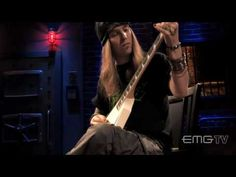 Alexi Laiho performs In Your Face Live at EMGtv - YouTube
