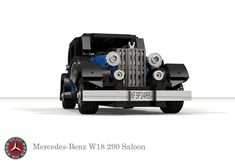 Mercedes-Benz W18 290 Saloon (1934) Coach Builders, Lego Vehicles, New Mercedes, Leaf Spring, Factory Design, Sporty Look, Motor Car, Touring, Convertible