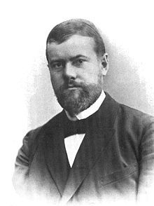 Max Weber -  a German sociologist, philosopher, and political economist whose ideas influenced social theory, social research, and the entire discipline of sociology