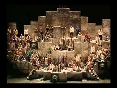 Nabucco, Verdi - Hebrew Slaves Chorus only time ever in history that the Metropolitan Opera Chorus gave an encore Classical Opera, Classical Music, Music Sing, My Music, Amadeus Mozart, Religion Catolica, Metropolitan Opera, Types Of Music, My Favorite Music