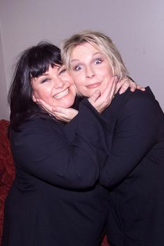 Dawn French and Jennifer Saunders - these two multi-talented, prolific comedic actors have been together for ages, a pretty good testimony to their professionalism and personal gifts. Everything they do cracks me up. I admire the fact that much of their material is either written by them personally, or is a spin-off into their own genius way of expressing the nuttiness they observe in this life.