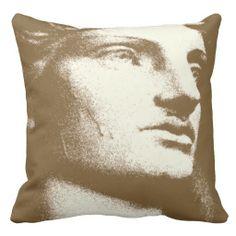 Classique Sepia Throw Pillow