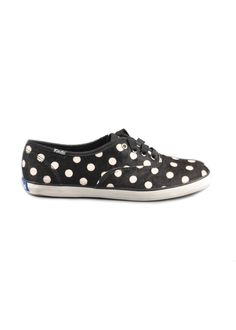 Keds Champ Spur Black Polka - Z Collections LLC