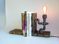 Bookends lamp Lighting Edison lamp Table lamps Desk