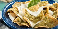 Chilaquiles verdes gratinados