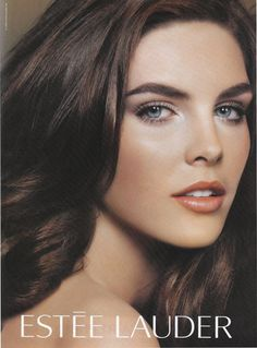 MN / Hilary for Estee Lauder - Estee Lauder Fall 2008 Beauty Ad, Beauty Make Up, Glam Makeup Look, Makeup Looks, Estee Lauder Produkte, Bruce Boxleitner, Hilary Rhoda, Perfume Ad, Victoria's Secret