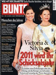 2010: Königin Silvia und Victoria von Schweden