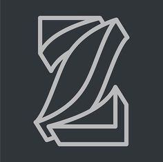 The letter z. This is the part of a letter series done by Zachary Spurling   #letters # letter #lettering #handlettering #design #graphicdesign #graphicdesigner #type #typography #customtype #letterform #type design (scheduled via http://www.tailwindapp.com?utm_source=pinterest&utm_medium=twpin)
