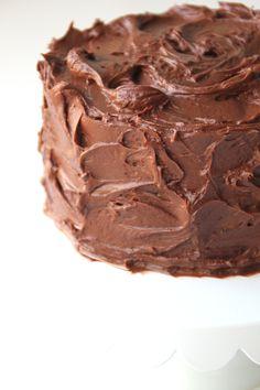 Choklad frosting | Bakverk och Fikastunder
