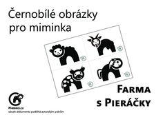 Černobílé obrázky pro miminka zdarma ke stažení ~ Pieris.cz, originální samolepky a dekorace