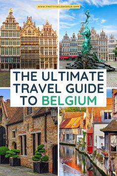 Belgium Vacation Ideas - Welcome to Pretty Wild World, a travel ideas website. Read about our top travel guides and let it help you plan your trip! Cities In Germany, Visit Germany, Germany Travel, Cool Places To Visit, Places To Travel, Travel Destinations, Holiday Destinations, Europe Travel Guide, Travel Guides