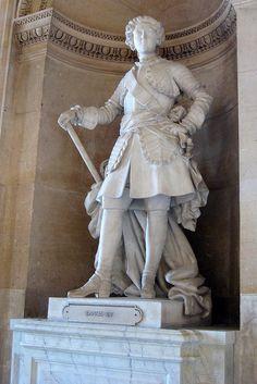 Versailles: Château de Versailles - Galeries de L'Histoire de France - Statue de Louis XV by wallyg, via Flickr