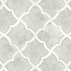 Talya Multi Finish 13 7/16x13 7/8 Gaia G D Marble Waterjet Mosaics