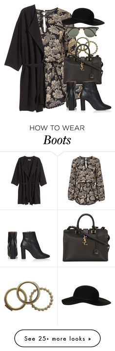 """""""Style #9453"""" by vany-alvarado on Polyvore featuring Topshop, H&M, Dolce&Gabbana, Yves Saint Laurent and Ray-Ban"""