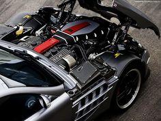Mercedes Benz SLR Engine.