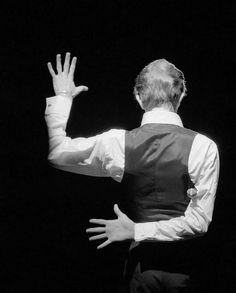 David Bowie, Wembley Auditorium, London 1976 by Andrew Kent.