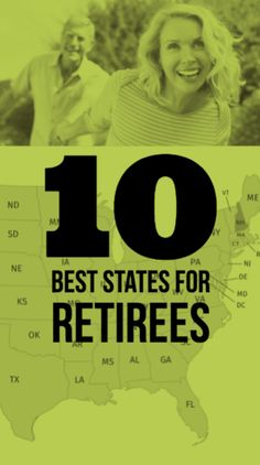 The 10 best and worst states for retirees, ranked.