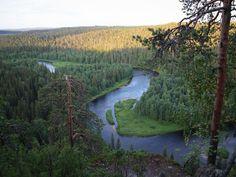 Pähkänäkallio River in Kuusamo, Finland Finland, National Parks, Landscapes, River, Mountains, Country, Nature, Photography, Outdoor
