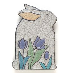 Cuerda Seca Info, examples Rabbit,Bunny, Wall Art, ceramic, Raku  handmade,Whimsical Sculpture,home decor on Etsy, $32.00