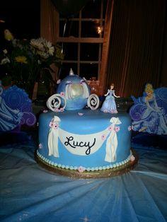 Cinderella Birthday Cake 4th Birthday, Birthday Parties, Birthday Cakes, Birthday Ideas, Cinderella Birthday, How To Make Cake, Birthdays, Cake Ideas, Kids