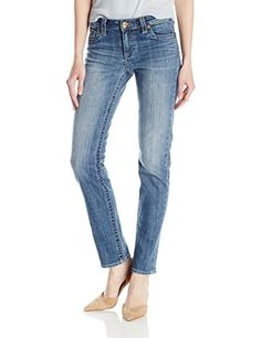 Women's Stevie Straight Leg Jeans in Joyful
