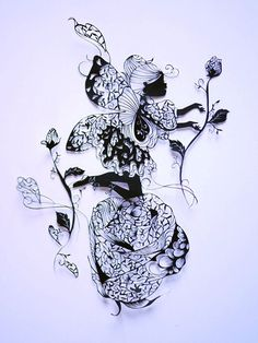 The Extraordinary Fine Paper cutting Skill of Hina Aoyama