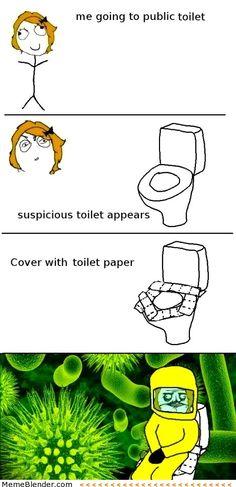 Funny Memes – Public Toilets