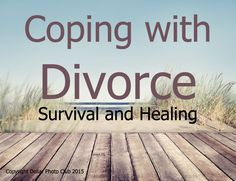 Life after divorce can be very difficult especially if you don't have a strategy for coping. When there are children involved it can be even more difficult if