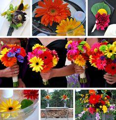 Gerber daisy wedding ideas