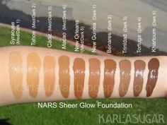 ***New Foundation review Nars Sheer Glow Foundation**** - Long Hair Care Forum
