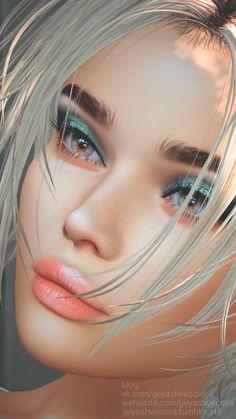 Pin by nasrin on Digital art girl in 2020 (With images) L'art Du Portrait, Digital Portrait, Fantasy Art Women, Fantasy Girl, Girl Cartoon, Cartoon Art, Evvi Art, Chica Fantasy, Digital Art Girl